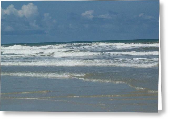 New Smyrna Beach Greeting Card by Lisa Williams