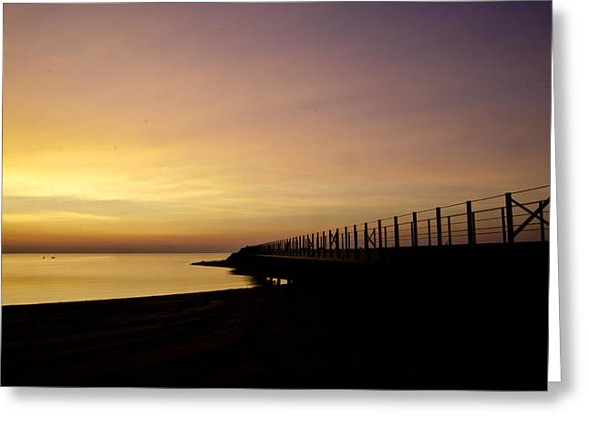 Greeting Card featuring the photograph New Waves by Jason Naudi Photography