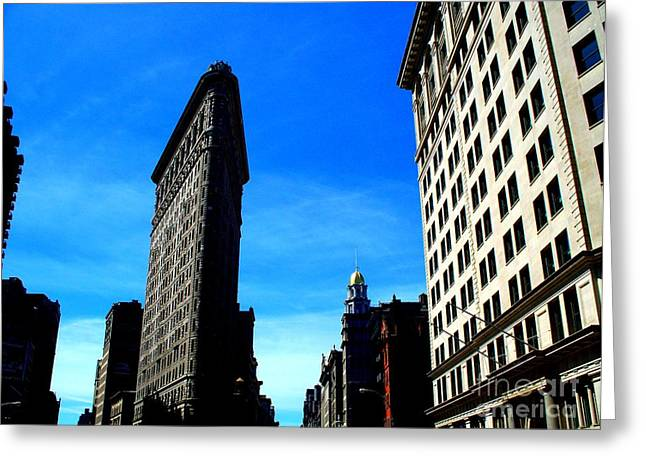New York 1 Greeting Card by Tanya  Searcy