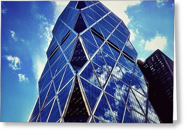 New York City - The Hearst Tower Greeting Card