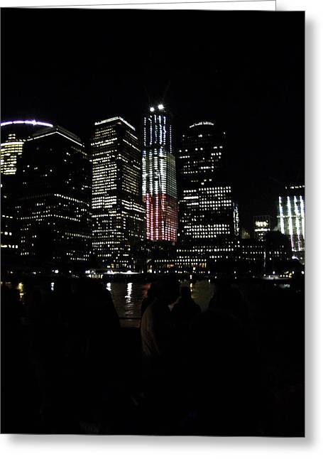 New York City Freedom Tower Greeting Card by Paul Plaine