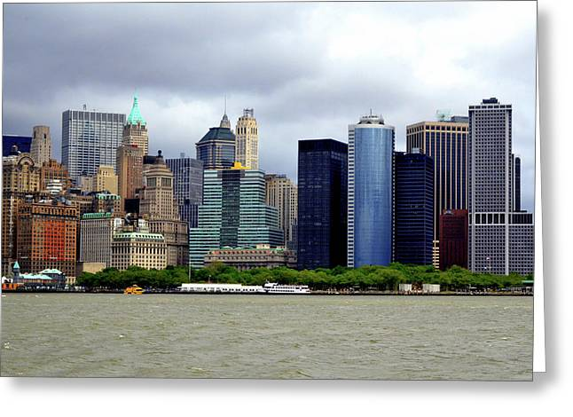Greeting Card featuring the photograph New York City by Pravine Chester