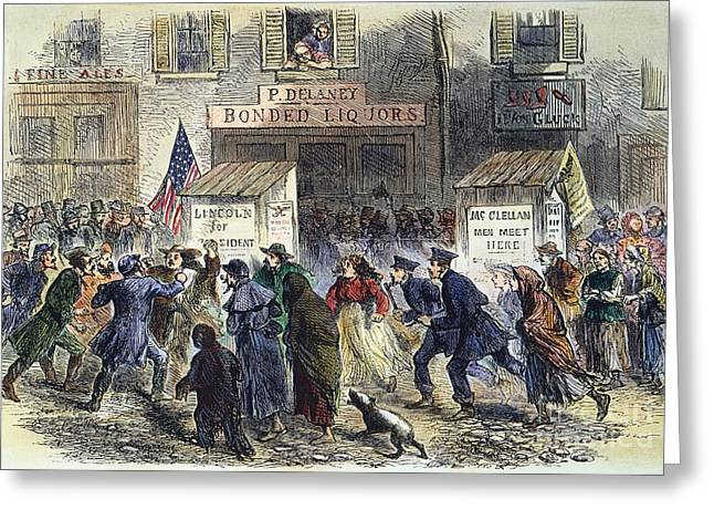 New York: Election, 1864 Greeting Card