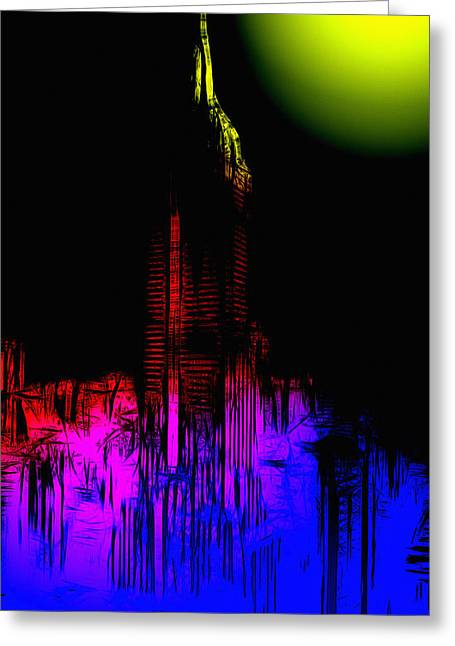 New York Nights Greeting Card by Steve K