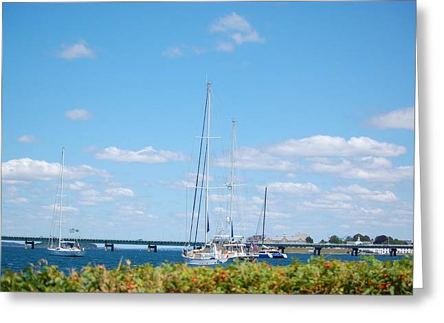 Newport Ri Summertime Greeting Card