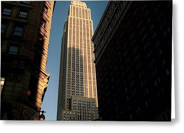 #newyorker #newyork #ny #empire Greeting Card