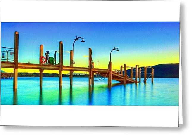 #newzealand #nz #au_nz_hotshots #bridge Greeting Card