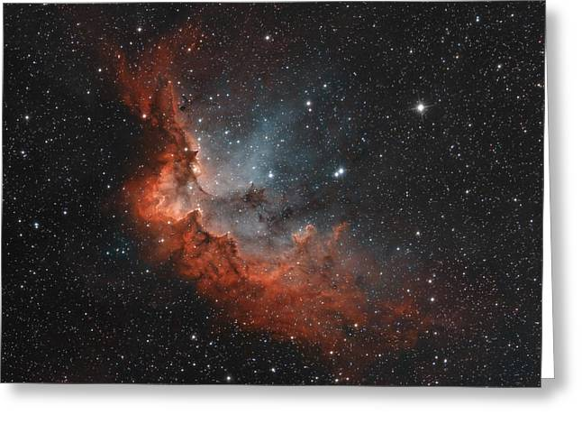 Ngc 7380 In True Colors Greeting Card
