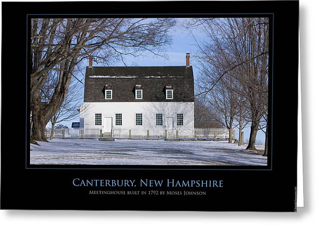 Nh Meetinghouse Greeting Card by Jim McDonald Photography