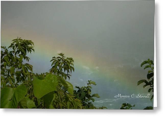 Niagara Falls Collection - Rainbow - Canadian View Greeting Card