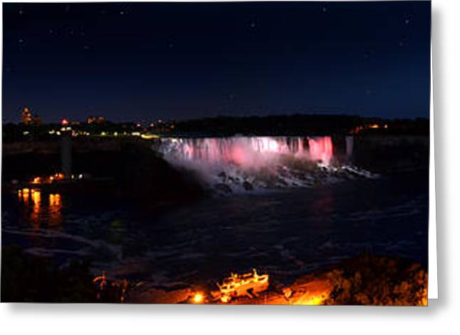 Niagara Falls Panoramic Greeting Card
