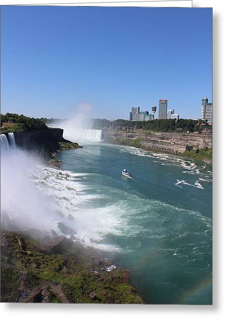 Niagara Falls Greeting Card by Vinod Reddy
