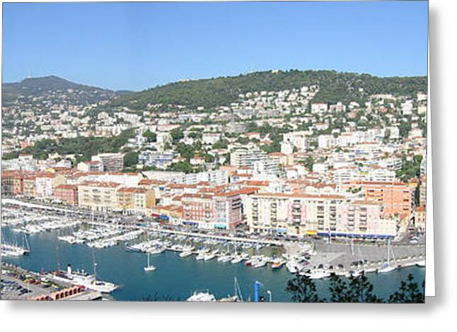 Greeting Card featuring the photograph Nice Marina by David Grant