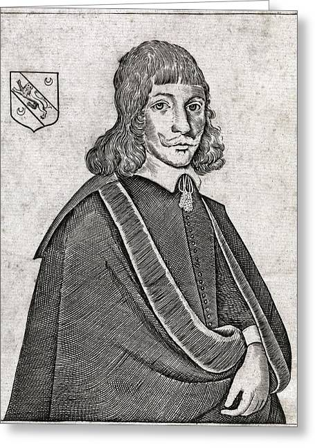 Nicholas Culpeper, English Physician Greeting Card by Middle Temple Library