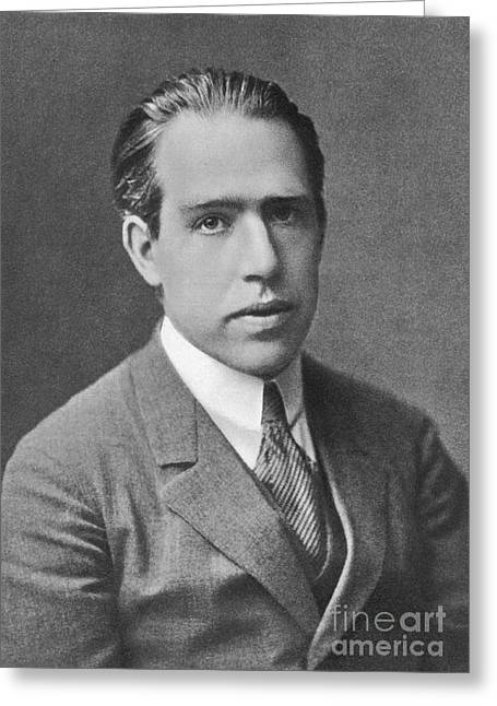 Niels Bohr, Danish Physicist Greeting Card by Science Source