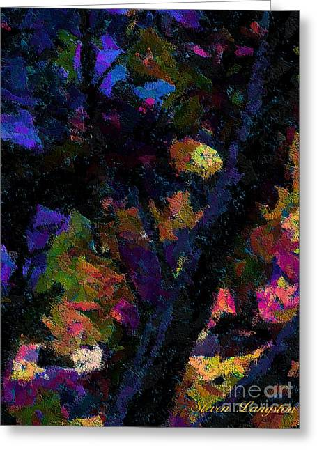 Night Of Color Greeting Card