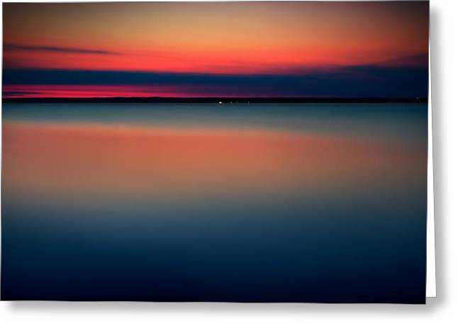Night On The North Of Sweden Greeting Card by Marek Czaja