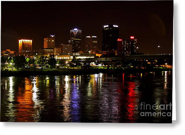 Nights In Little Rock Greeting Card