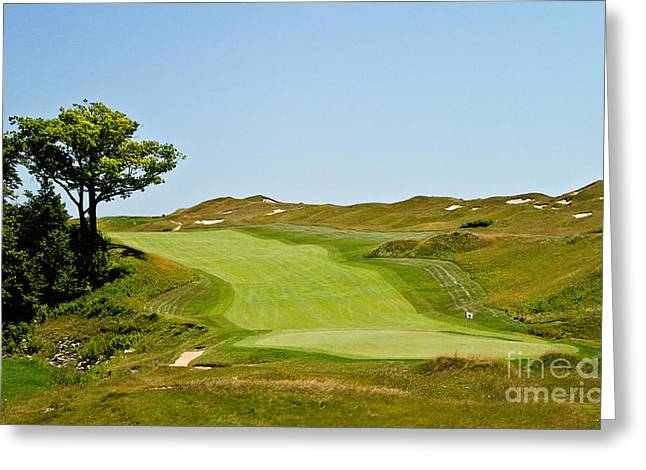 Ninth Hole Greeting Card