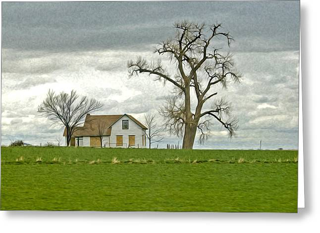 No One Is Home. Greeting Card