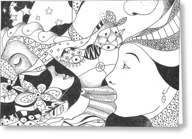 No Ordinary Dream Greeting Card by Helena Tiainen
