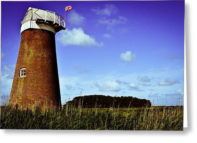 Norfolk Windmill Greeting Card