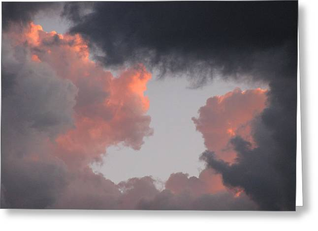 Norma Jeane Mortenson's Clouds Greeting Card