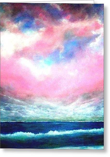 North Atlantic Ocean Greeting Card