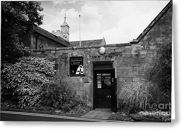 North Down Museum And Heritage Centre In Bangor Castle Now The Town Hall Greeting Card by Joe Fox