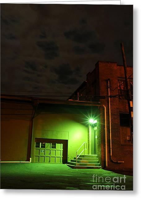 Northampton At Night Greeting Card