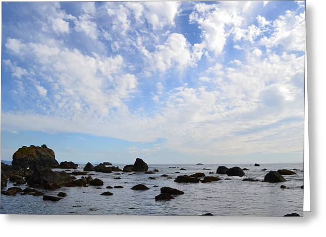 Northern California Coast1 Greeting Card