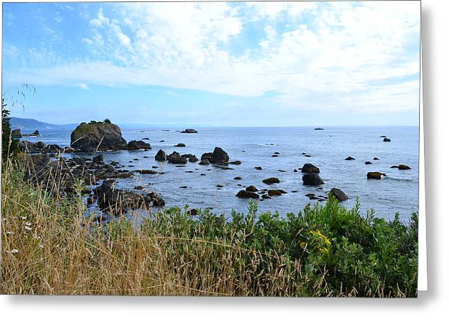 Northern California Coast2 Greeting Card