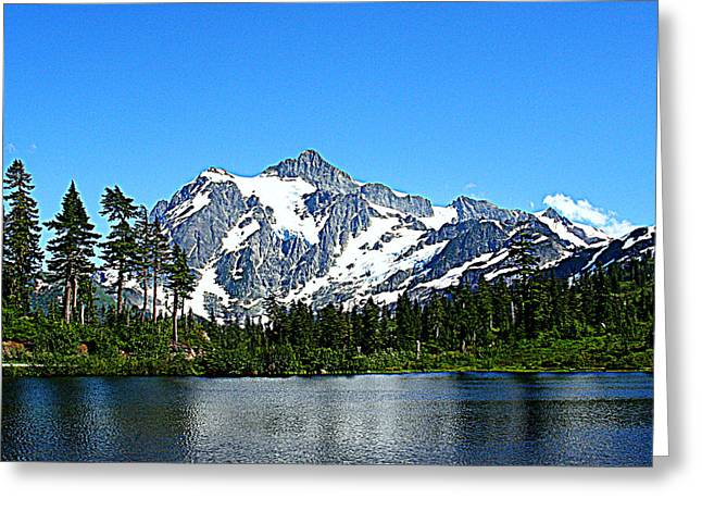 Northern Cascades Greeting Card