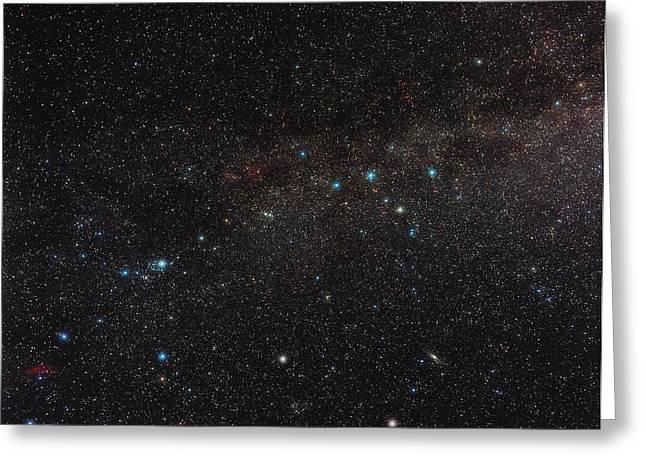 Northern Milky Way Greeting Card by Eckhard Slawik