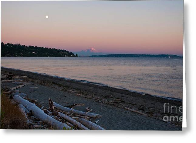 Northwest Evening Greeting Card
