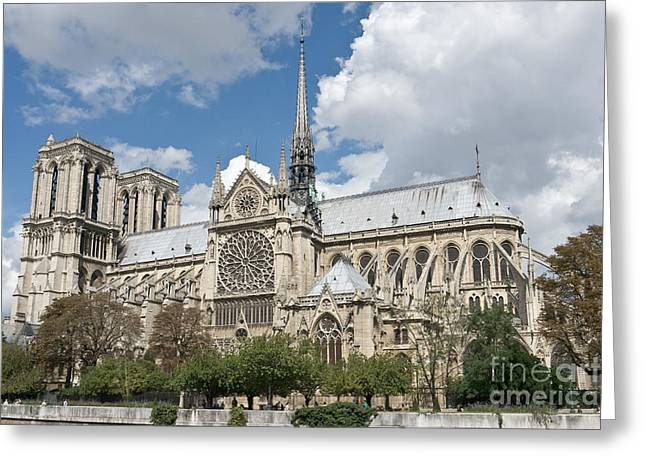 Notre-dame-de-paris I Greeting Card by Fabrizio Ruggeri
