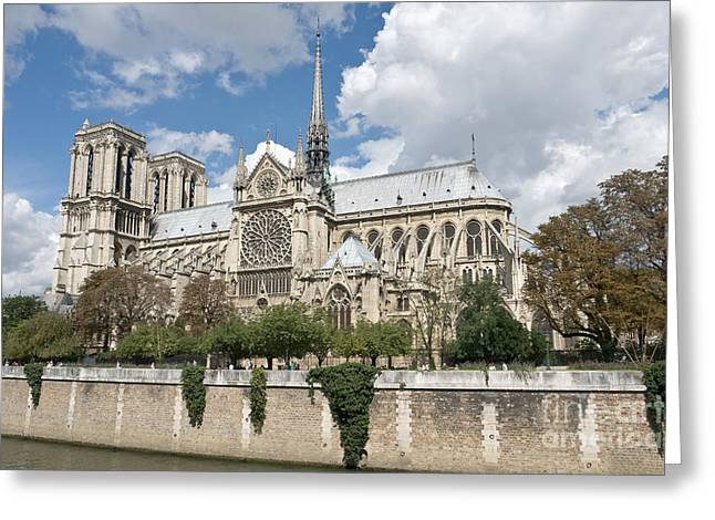 Notre-dame-de-paris II Greeting Card by Fabrizio Ruggeri