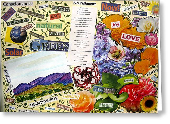 Nourishment Greeting Card