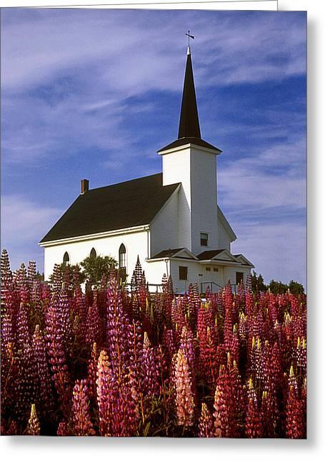Nova Scotia Church Greeting Card
