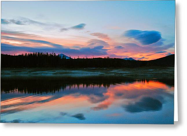 November Sunrise Greeting Card