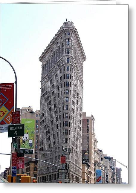 Nyc - The Flatiron Building Greeting Card
