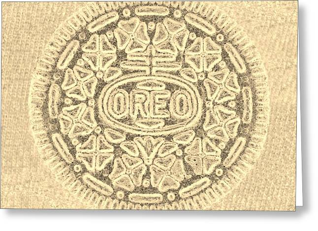 O R E O In Sepia Greeting Card by Rob Hans