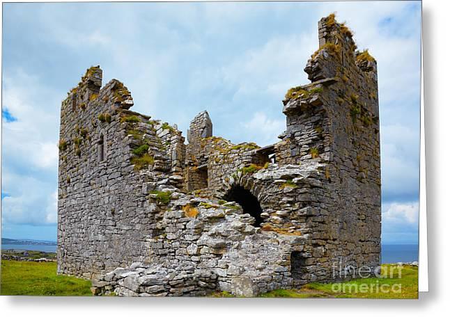 O'brien Castle Greeting Card by Gabriela Insuratelu