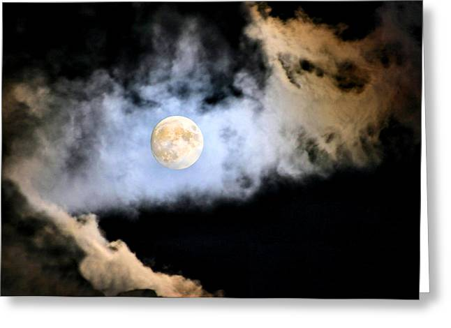 Obscured By Clouds Greeting Card by Kristin Elmquist
