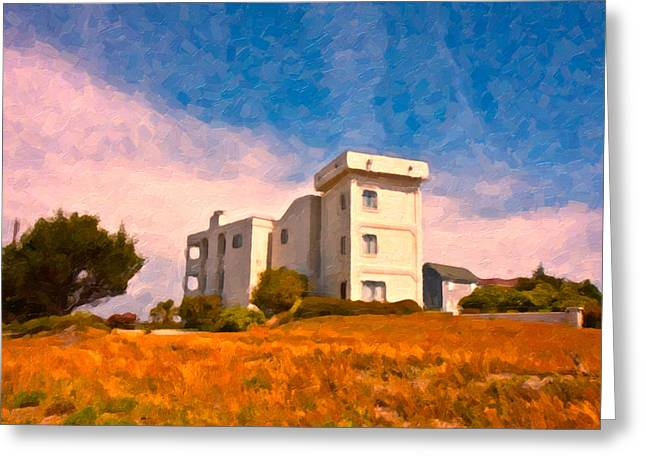 Observation Tower 1 Greeting Card by Betsy Knapp
