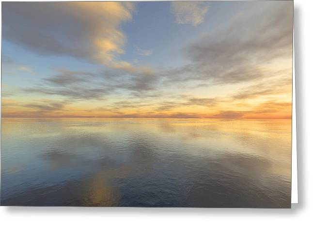 Ocean Greeting Card by Mark Greenberg