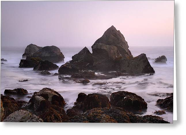 Ocean Scene Greeting Card by Pierre Leclerc Photography