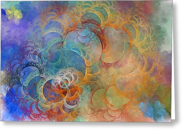 Ocean Sunrise Greeting Card by Betsy Knapp