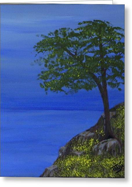 Ocean Tree Greeting Card