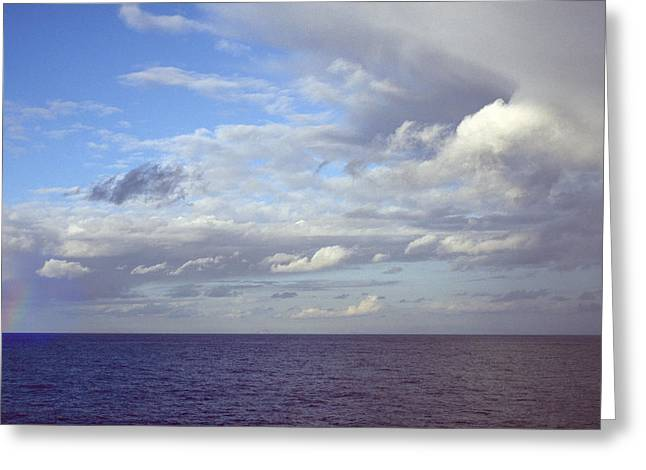Ocean View Greeting Card by Mark Greenberg